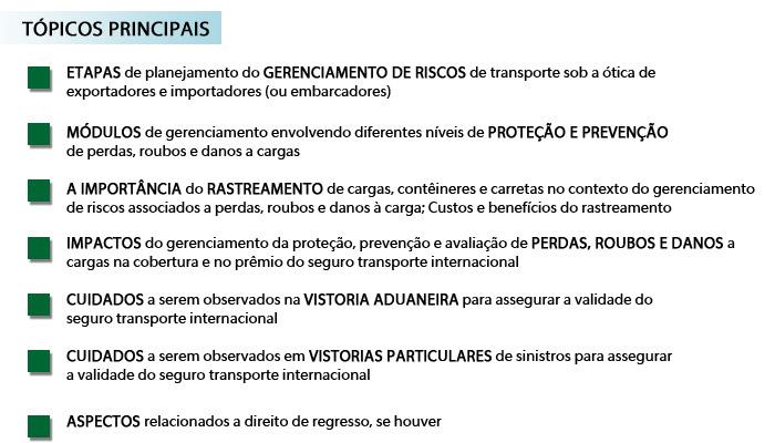 """Exporta, São Paulo apresenta: Workshop """"Gerenciamento de riscos e o Seguro Transporte Internacional"""" - dia 17/04 às 14h"""